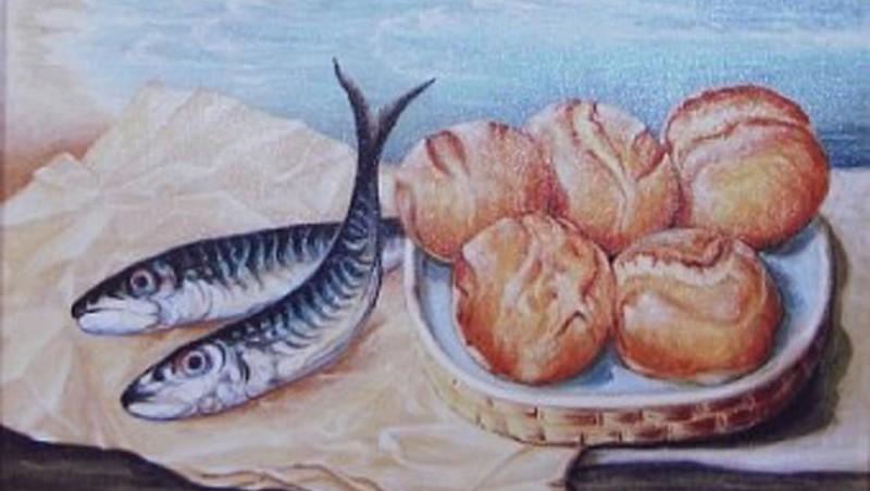 La moltiplicazione dei pani e dei pesci insieme ragusa for Pesci con la e