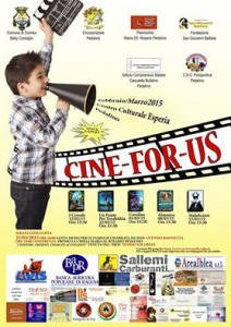 locandina cine for us