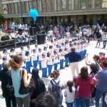 Gli alunni della Scuola SS. Redentore alla Marcia della Pace