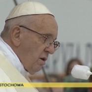 "Papa Francesco nell'omelia a Czestochowa esorta a ""tessere la trama umile del vangelo"""