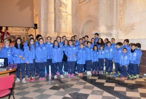 Il gruppo giovani della No al doping
